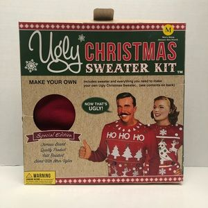 Sweaters - Ugly Christmas sweater kit size medium